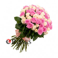 "Bouquet ""Angel"" 51 roses"